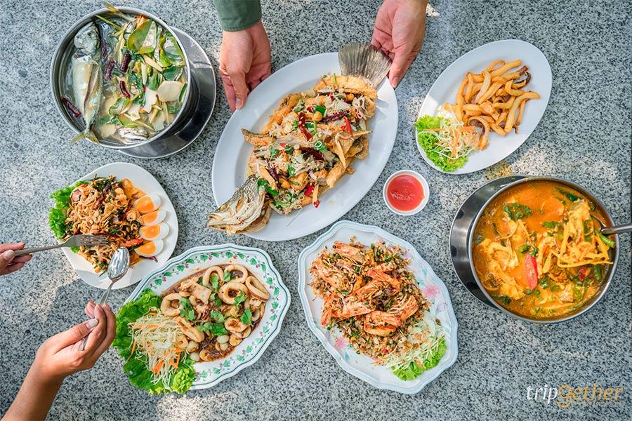 อาหารไทยซีฟู้ด