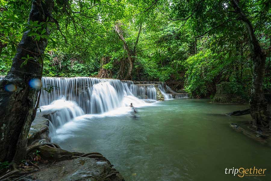 กาญจนบุรีเล่นน้ำ