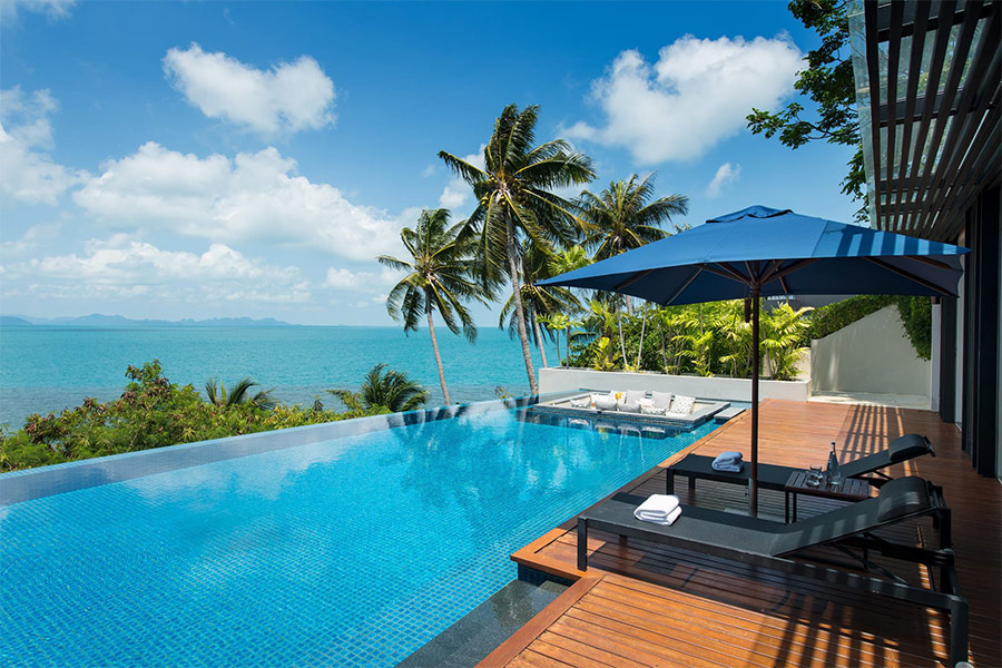 Conrad Koh Samui, คอนราด เกาะสมุย, ที่พักสมุย, ที่พักสมุยติดทะเล