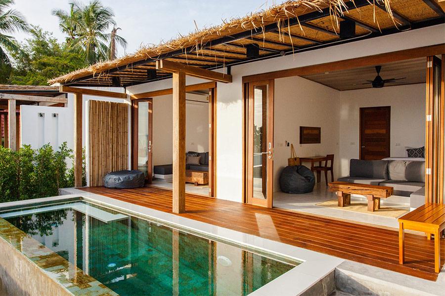 เดอะฮัมเบิล วิลล่า, The humble villa, พูลวิลล่าวิวทะเลสมุย, ที่พักสมุยสระว่ายน้ำส่วนตัว