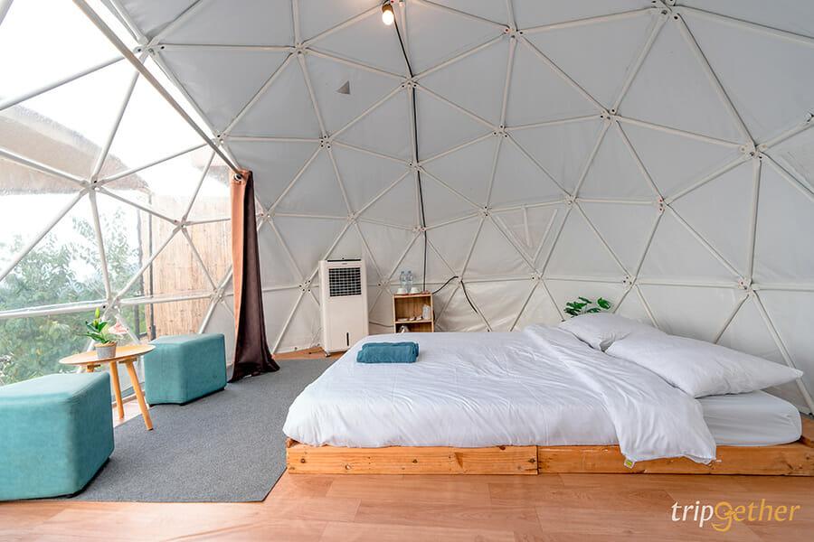 ที่พักม่อนแจ่มปลายปี 2021