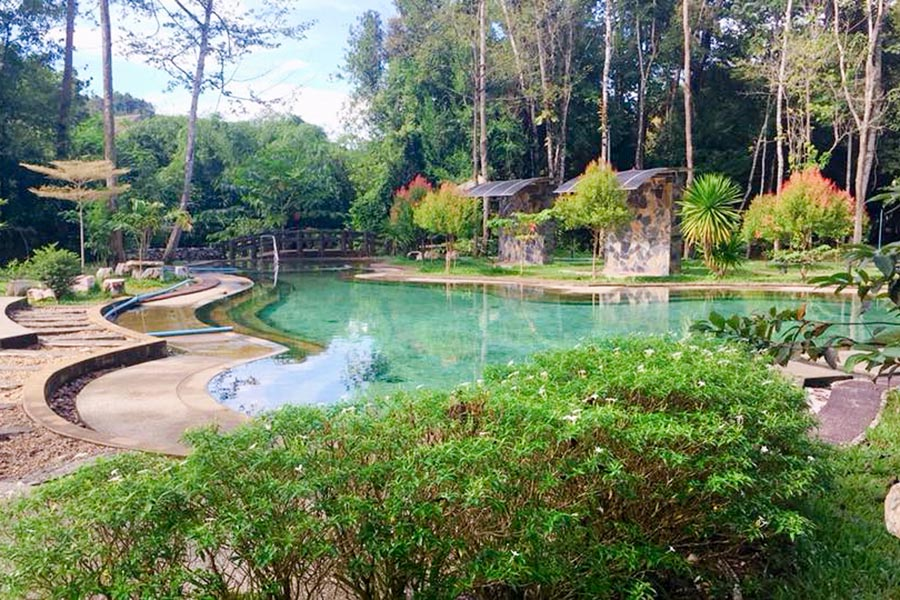 Khlong Thom Hot Spring Waterfall1-2