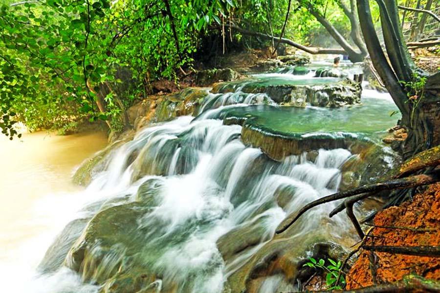 Khlong Thom Hot Spring Waterfall3-2